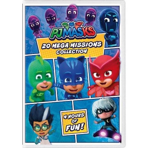 PJ Masks: 20 Mega Missions Collection (DVD) - image 1 of 1