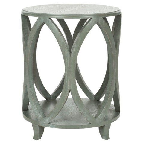 Dakota Accent Table - Ash - Safavieh® - image 1 of 3