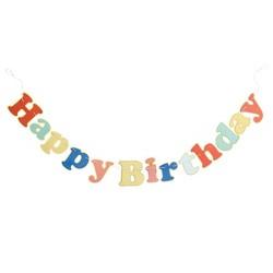 """Happy Birthday"" Party Banner - Spritz™"