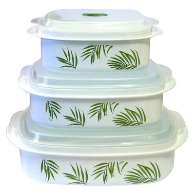 Reston Lloyd Corelle Microwave Set - Bamboo Leaf