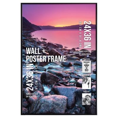 Poster Frame Thin Profile - Black - (24 x36 )- Room Essentials™