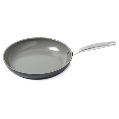 Green Pan Chatham 10  Ceramic Non-Stick Open Frypan Gray