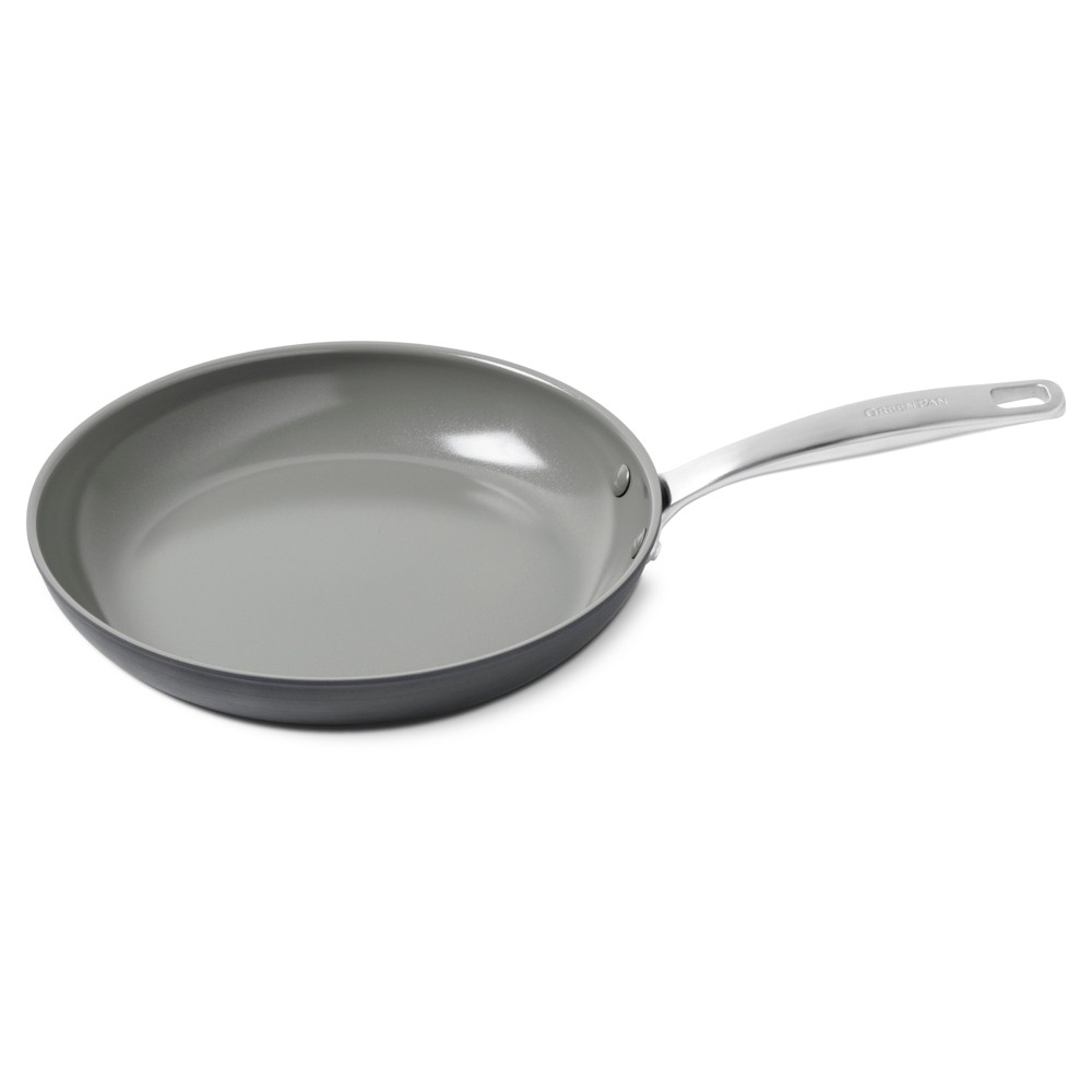 """Image of """"Green Pan Chatham 10"""""""" Ceramic Non-Stick Open Frypan Gray"""""""