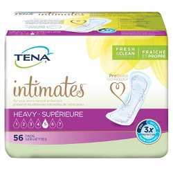 Tena Incontinence Pads for Women - Heavy - Regular - 56ct