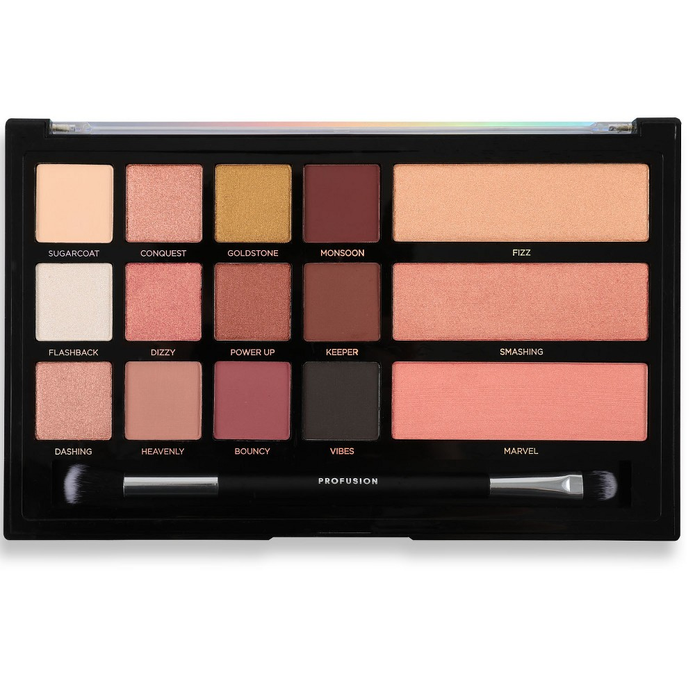 Profusion Cosmetics Eye and Cheek Palette Rose Gold - 10oz
