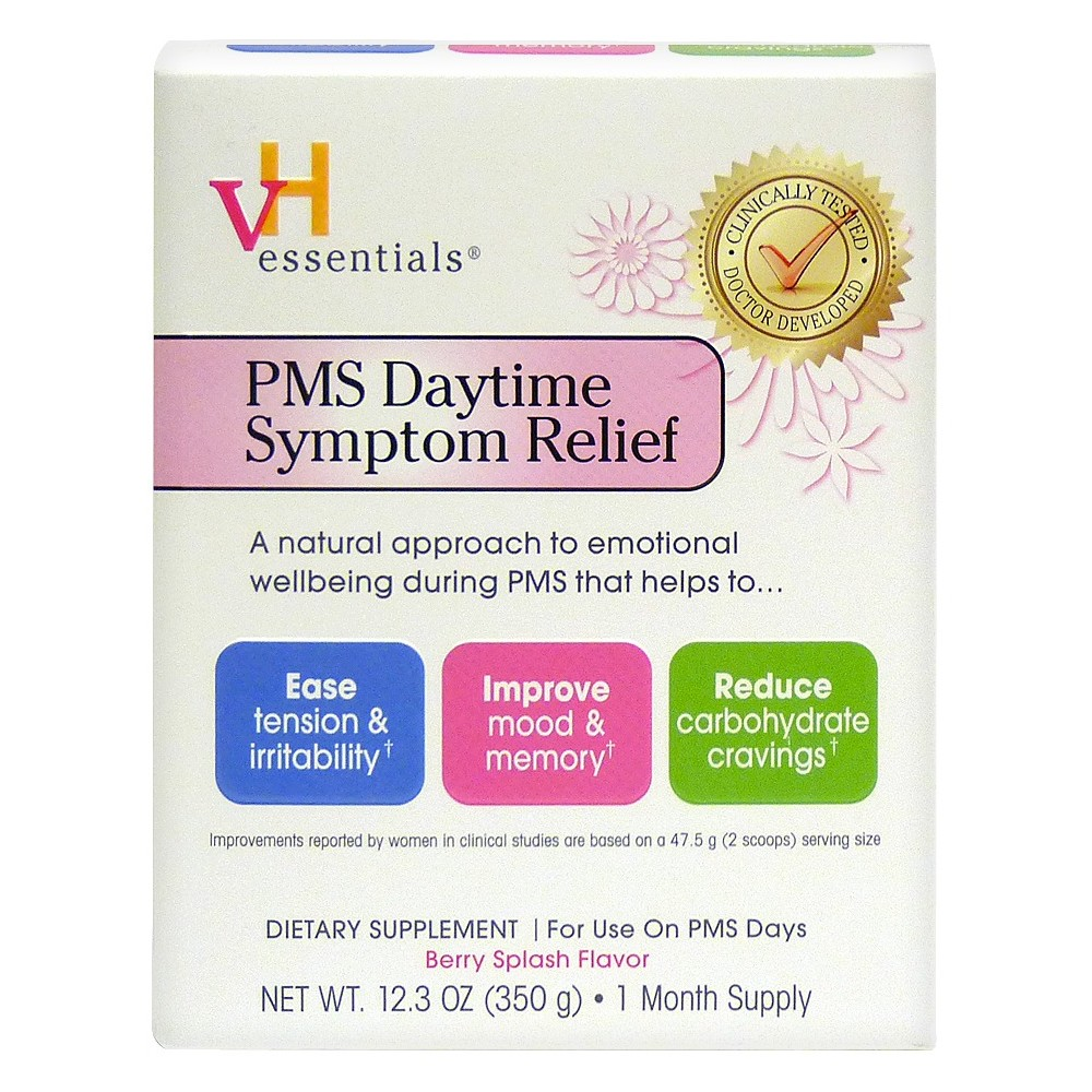 VH Essentials Pms Relief Daytime Powder - Berry Splash - 12.3oz