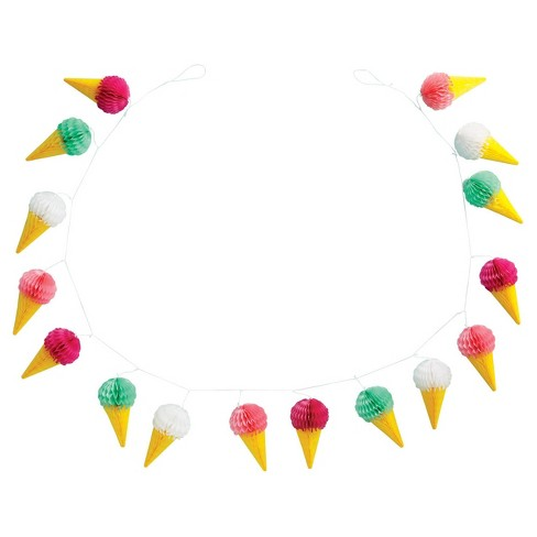 Ice Cream Garland - Spritz™ - image 1 of 1