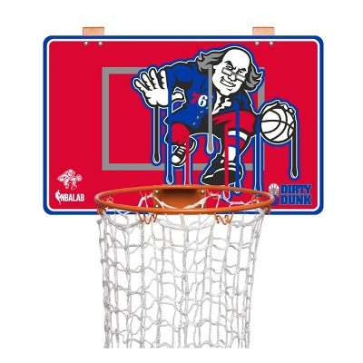 NBA Philadelphia 76ers Dirty Dunk Hamper Hoop
