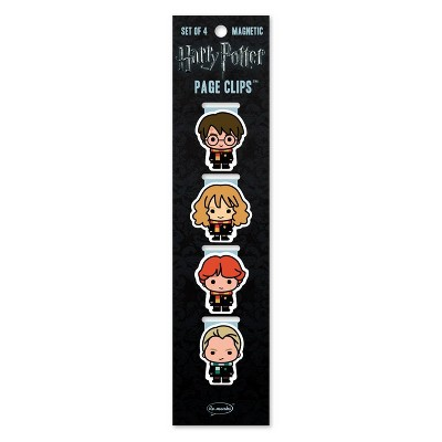 Harry Potter Chibi Wizards Page Clips