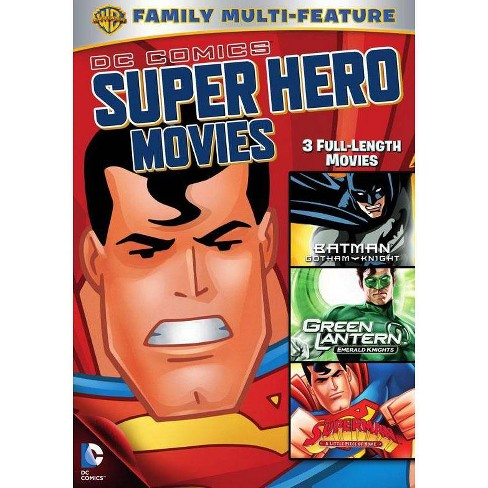 DC Superheroes Movie 3-Pack (DVD) - image 1 of 1