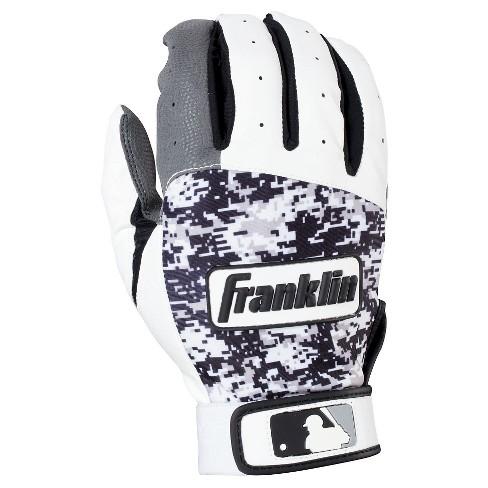 Franklin Sports Digitek Adult Batting Glove - Gray/White/Black Digi (XL) - image 1 of 3