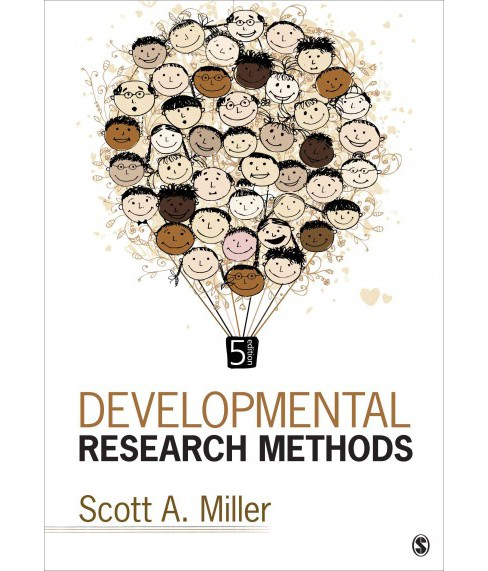 Developmental Research Methods (Paperback) (Scott A. Miller) - image 1 of 1