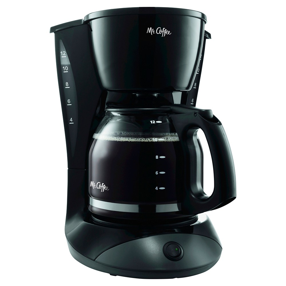 Mr. Coffee 12 Cup Switch Coffee Maker – Black DW13-RB 10135494