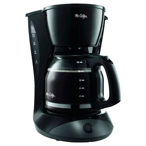 Mr. Coffee Switch 12-Cup Coffee Maker - Black