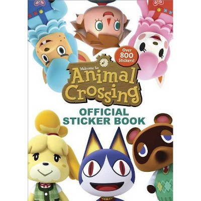 Nintendo Animal Crossing Official Sticker Book - by Courtney Carbone (Paperback)