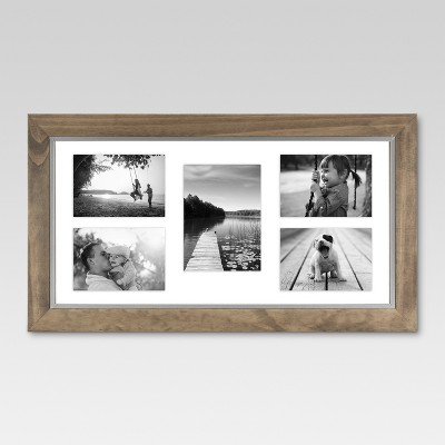 Multiple Picture Frame Brown - Threshold™