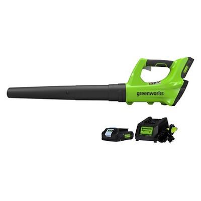 GreenWorks 10.32 H 24V Leaf Blower Green