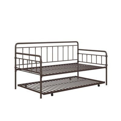 Waldorf Metal Daybed and Trundle - Room & Joy
