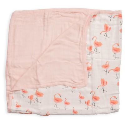Little Unicorn Baby Quilt - Pink Ladies