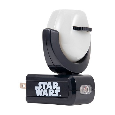 Projectable Star Wars LED Night Light Sensing Black