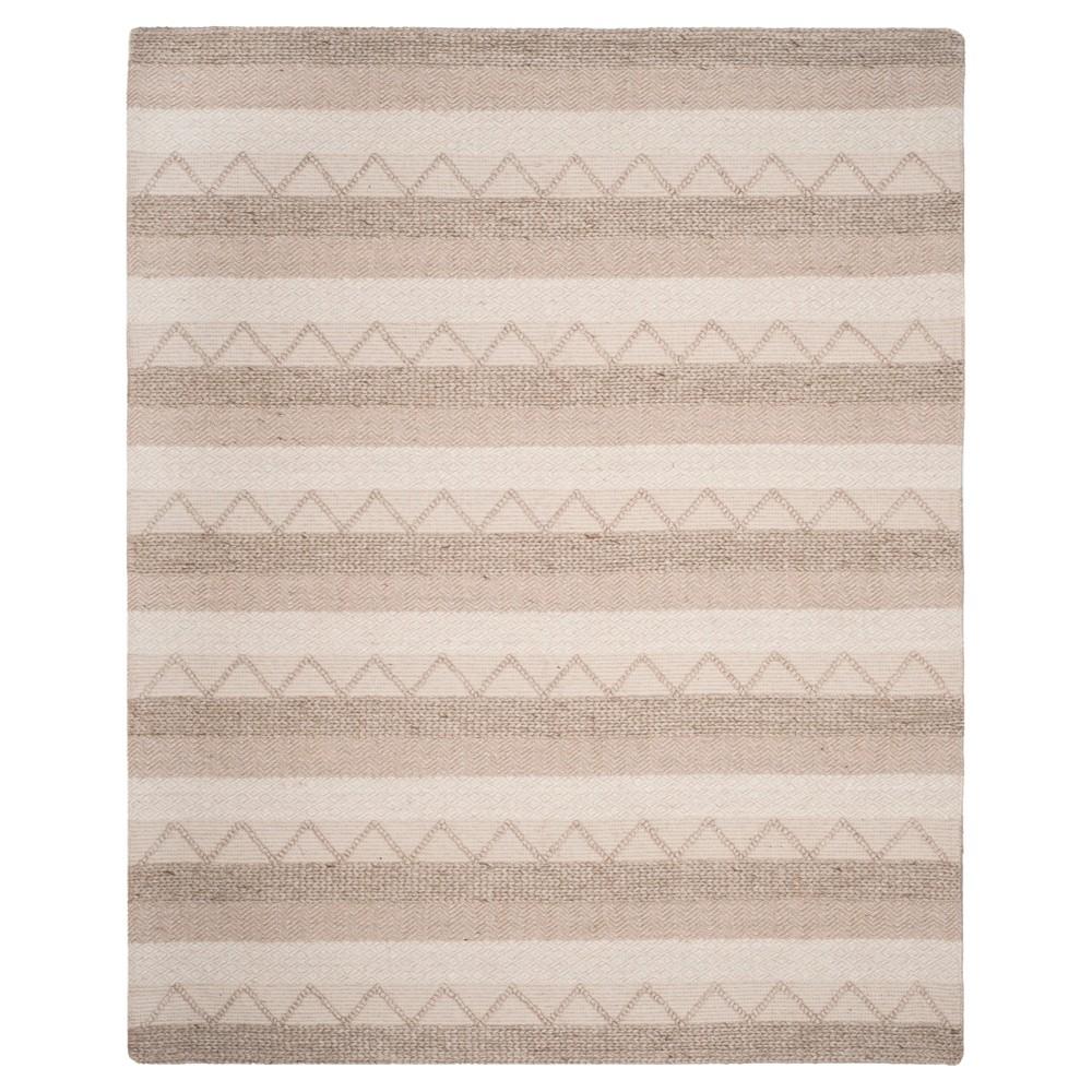 Beige Stripe Tufted Area Rug 8'X10' - Safavieh