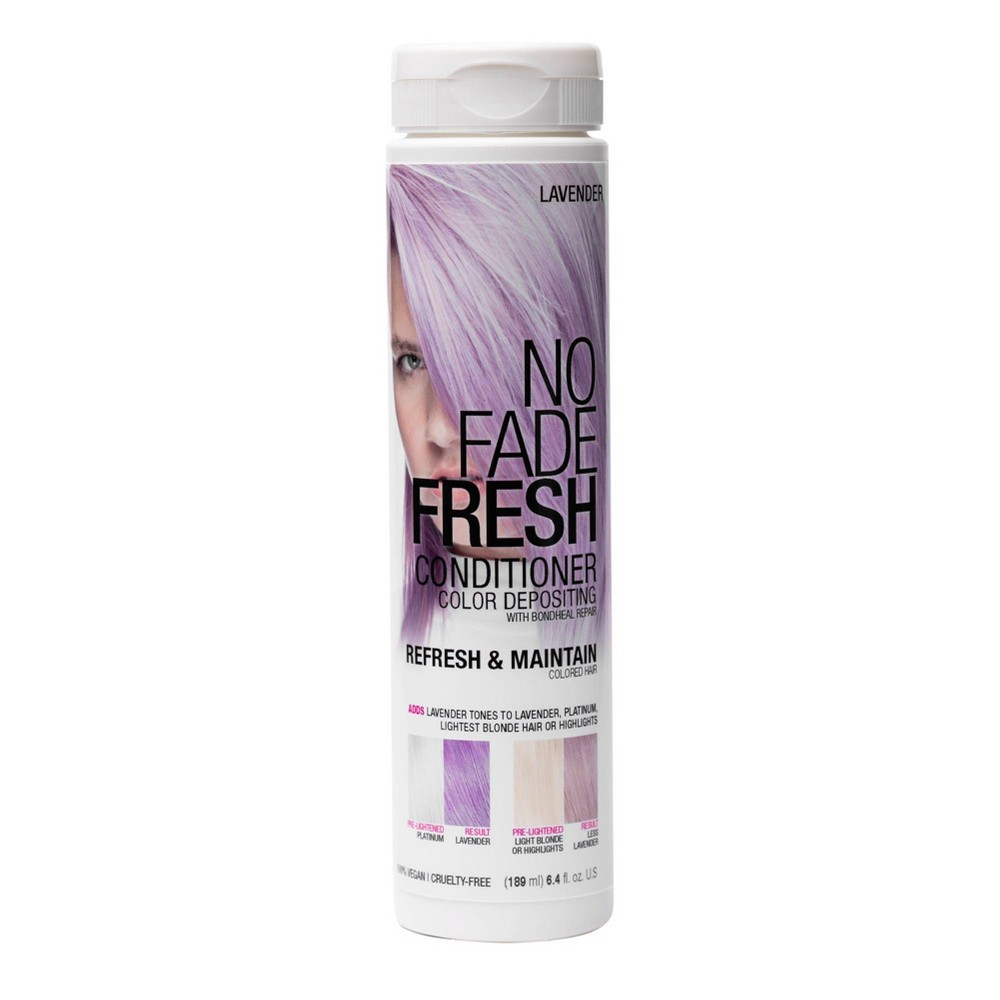Image of No Fade Fresh Color Depositing Conditioner with BondHeal Repair - Lavender