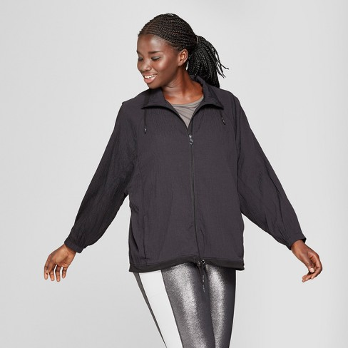 b35bea7f42d Women s Plus Size Textured Raglan Softshell Jacket - JoyLab™ Black ...