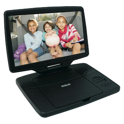 "RCA 10"" Portable DVD Player - Black (DRC98101S)"