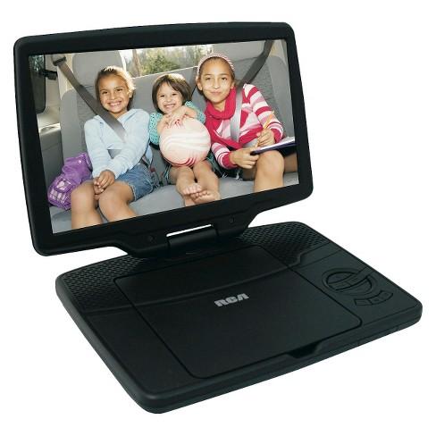 "RCA 10"" Portable DVD Player - Black (DRC98101S) - image 1 of 3"