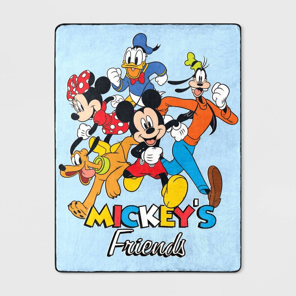"Image of ""46""""x60"""" Mickey Mouse & Friends Mickey's Throw"""