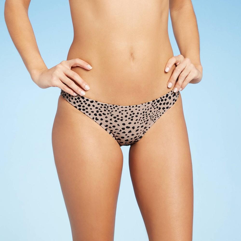 Juniors 39 Hipster Bikini Bottom Xhilaration 8482 Animal Print S