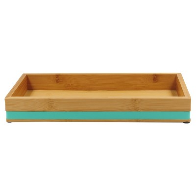 Soft Bamboo Tray Green - Room Essentials™