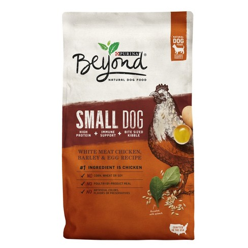 Purina Beyond Small Breed Formula (Chicken, Oatmeal and Pumpkin) - Dry Dog Food - 3.7lb Bag - image 1 of 5