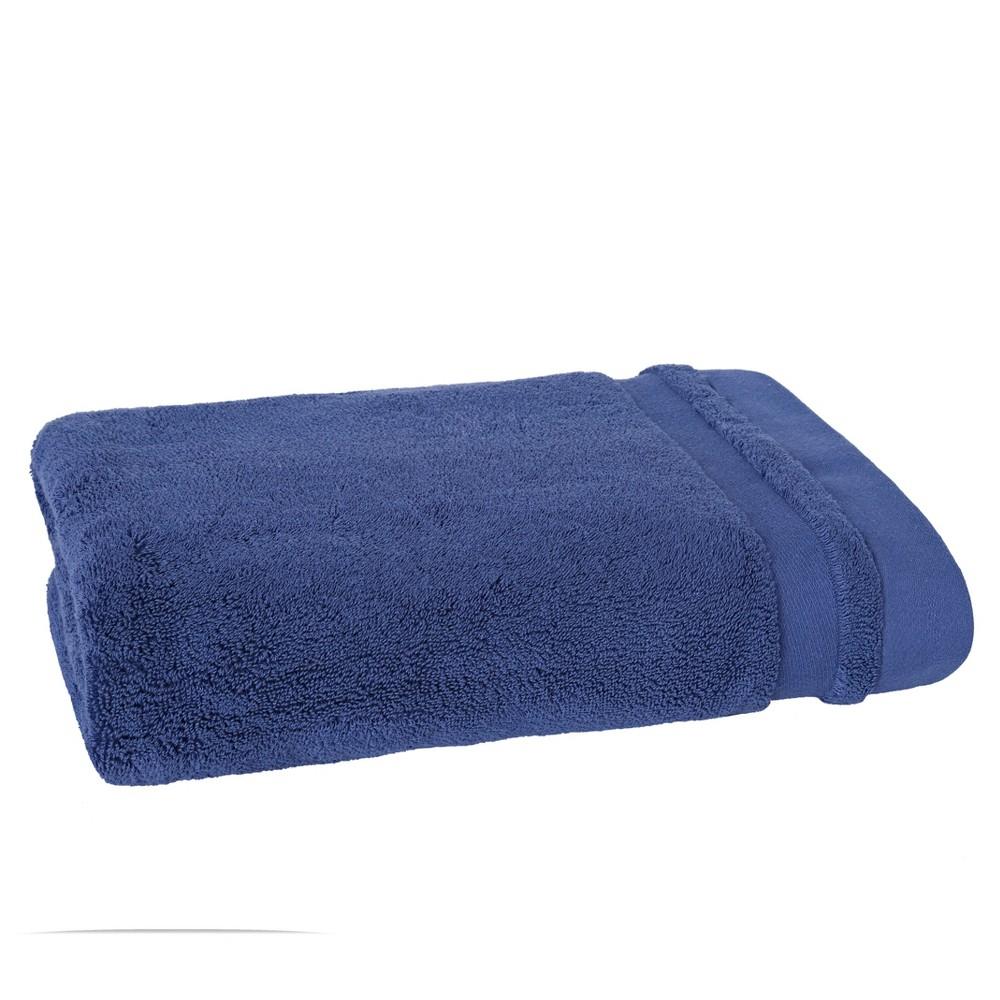 Mr. Fox Solid Bath Towel Lake Navy Blue - Scion