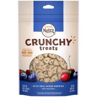 Nutro Crunchy Mixed Berry Dog Treats - 10oz
