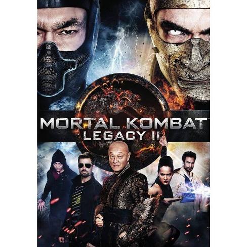 Mortal Kombat Legacy Ii Dvd Target