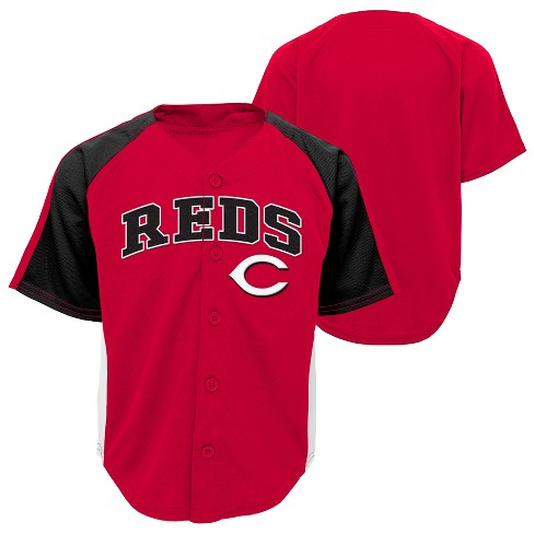free shipping 143e5 0b2f0 Cincinnati Reds Boys' Infant/Toddler Team Jersey - 2T