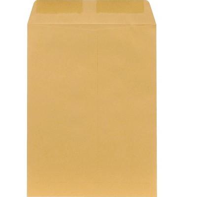 "MyOfficeInnovations Catalog Envelopes 9"" x 12"" Brown Kraft 100/Box 194969"