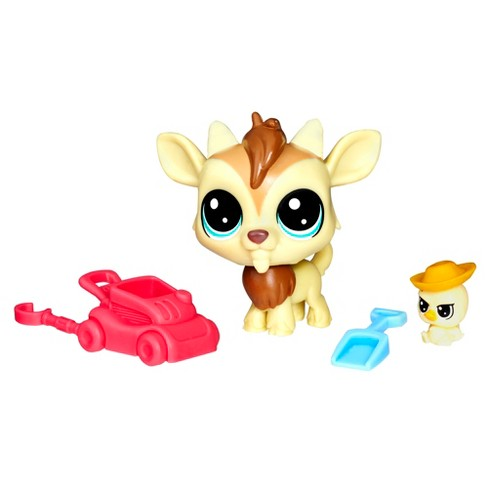 Littlest Pet Shop Quincy Goatee & Chickles Scrapper - image 1 of 2