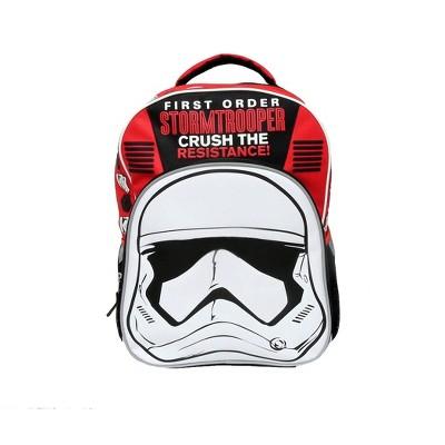 "Star Wars Storm Trooper 16/"" School Backpack Book Bag New"