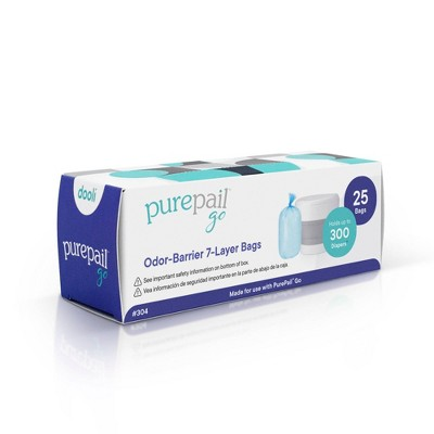 PurePail Go Refill Bags - 25ct