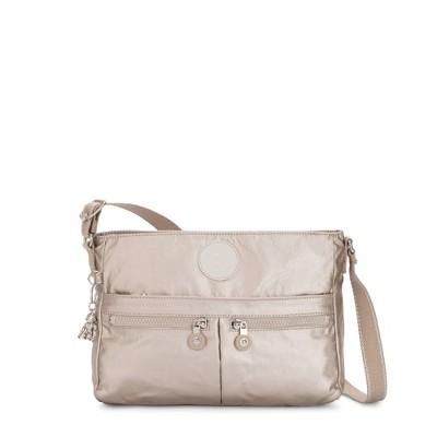 Kipling New Angie Metallic Crossbody Bag
