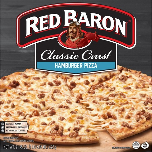 Red Baron Classic Hamburger Frozen Pizza - 21.76oz - image 1 of 3