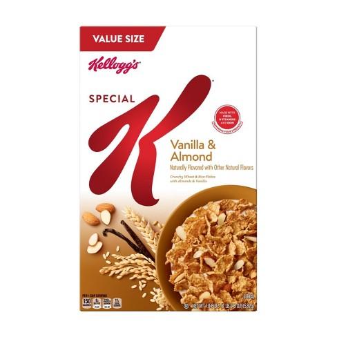 Special K Vanilla Almond Breakfast Cereal - 18.8oz - Kellogg's - image 1 of 4