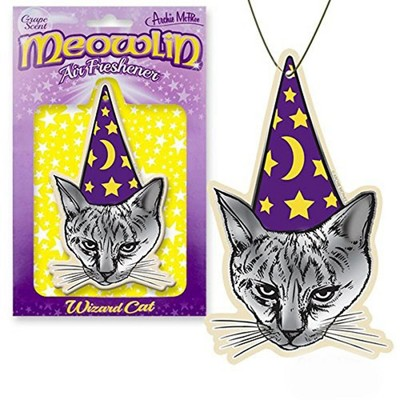Accoutrements Meowlin Grape Scented Air Freshener