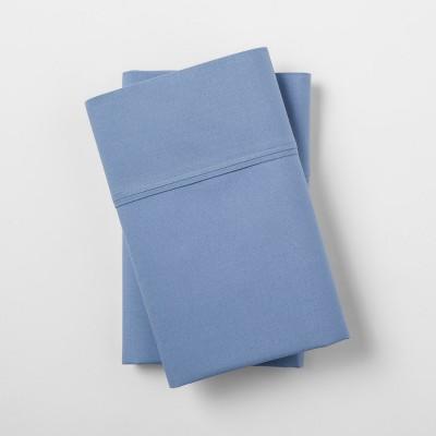 Ultra Soft Pillowcase Set (King)Blue 300 Thread Count - Threshold™