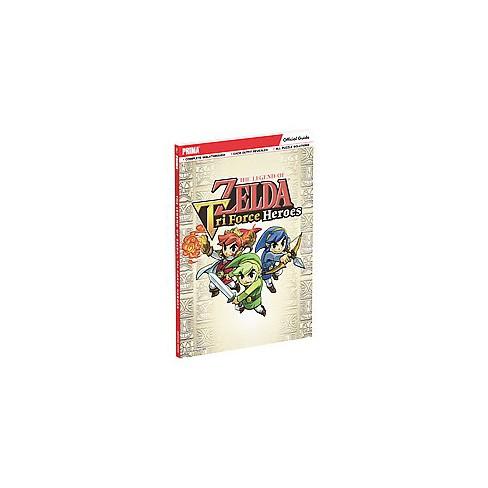 The Legend of Zelda - Tri Force Heroes GuideOriginalPaperback - image 1 of 1