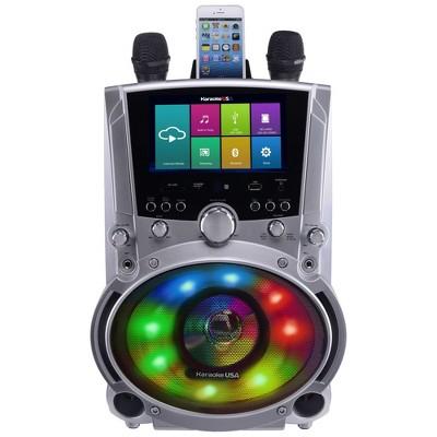 "Karaoke USA All-In-One Wi-Fi Multimedia Karaoke System With 7"" LCD Touch Screen (WK760)"