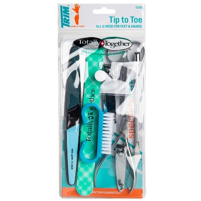 Trim Totally Together Personal Grooming Nail Care Kit - 8pc