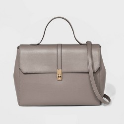 Structured Top Handle Work Tote Handbag - A New Day™
